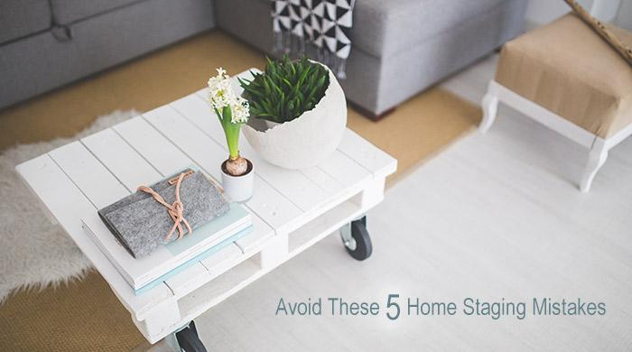 Staging Your Home for Sale? Avoid These 5 Mistakes (Source: Pexels.com - used as royalty free image)