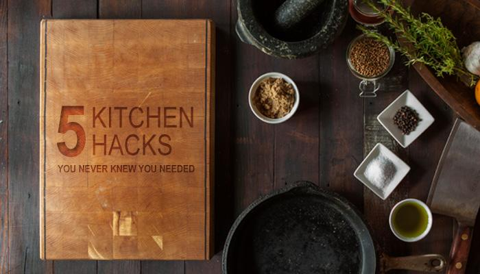 Five Kitchen Hacks You Never Knew You Needed (Source: Pexels.com - used as royalty free image)
